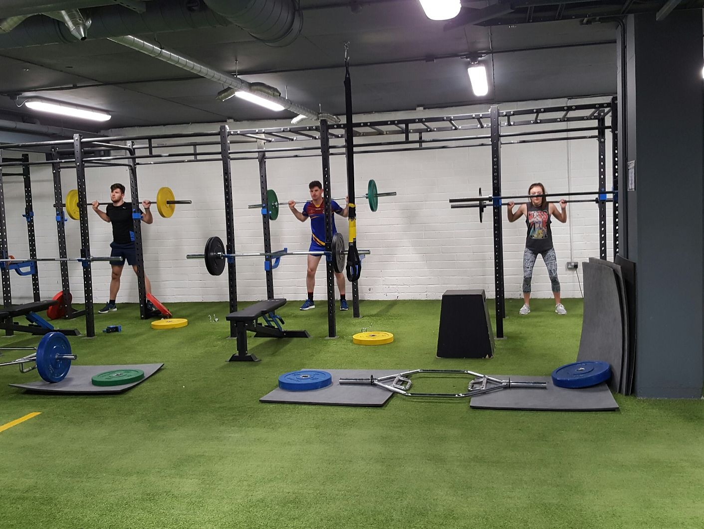 Strength & Condidioning – Free Weights area – NRG – Cork – Galway