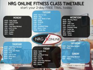 NRGOnline2021-Timetable