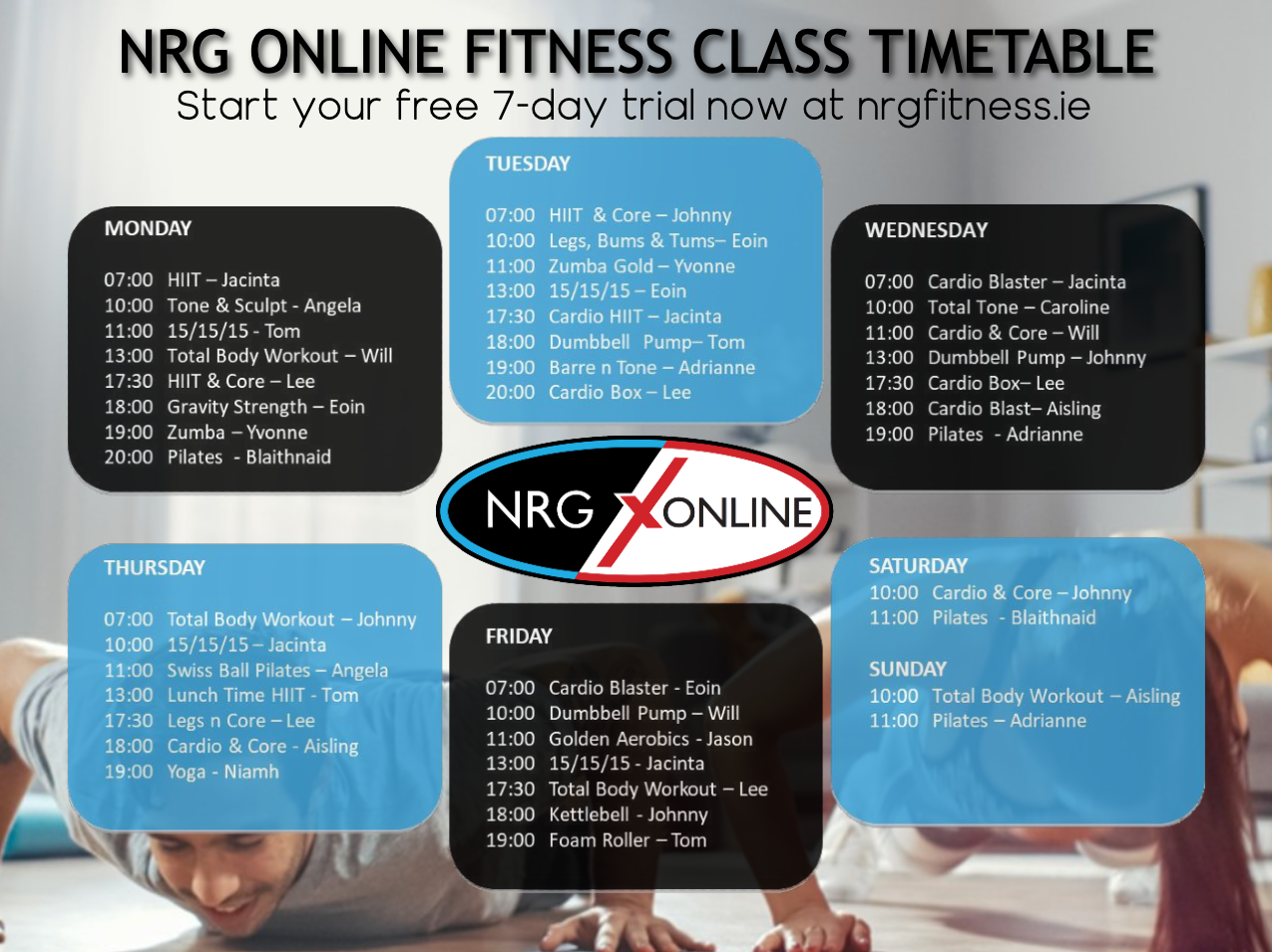 VIEW TIMETABLE